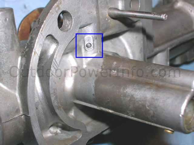 16 idle passage ball plug a ball plug seals a