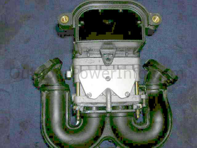 Briggs And Stratton Intek V Twin 2 Barrel Nikki Carburetor Air Horn