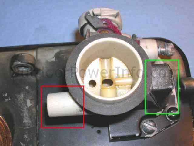 Disassembly, Repair of Briggs Tank-mounted Vacu-jet Automatic Choke