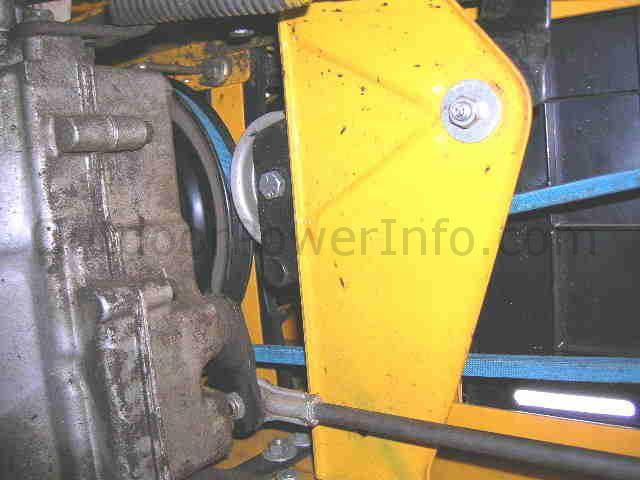 v-belts on cub cadet tractor 1015, 1225 and 1315 - drive belt -