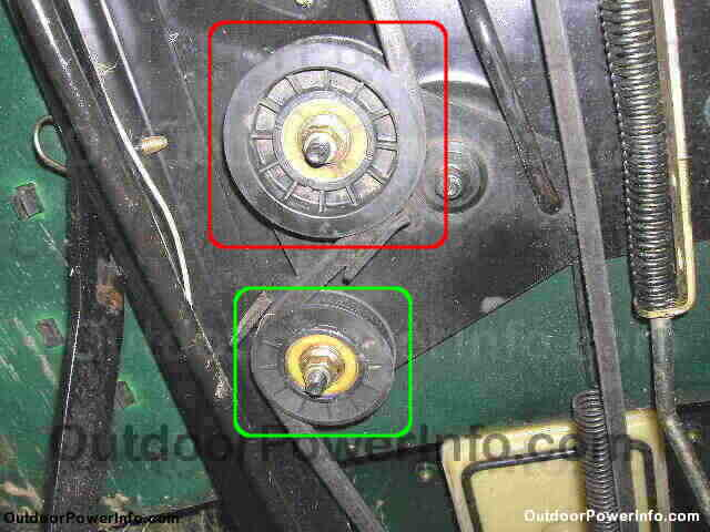 installation repair and replacement of john deere tractor 100 john deere tractor 100 series drive belts tensioning idlers
