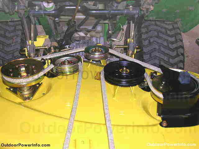 John Deere Lt160 Auto Drive Belt