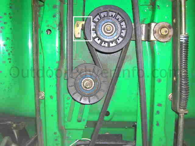 John Deere Sabre 1742 Hydro Belt Diagram