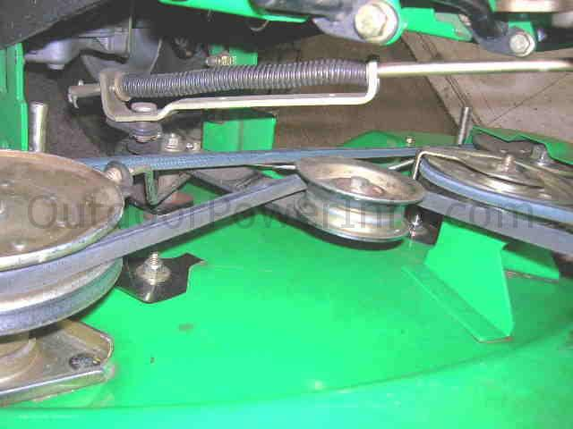 _deck_belt installation, repair and replacement of john deere sabre 14 5 38 scotts s1742 wiring diagram at n-0.co