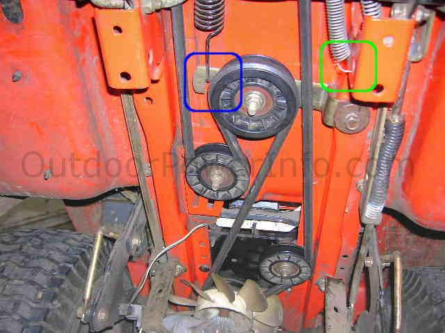 Installation Repair And Replacement Of John Deere Scotts 1642h Hydro Drive Belt