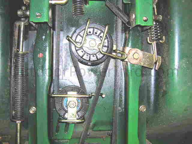 mid_idlers installation and replacement of john deere tractor stx38 and stx46