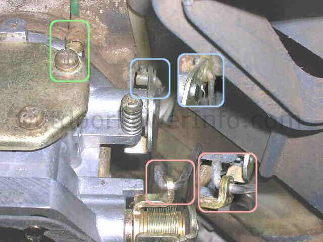 Kohler Command V Twin Nikki Carburetor Carb Linkages