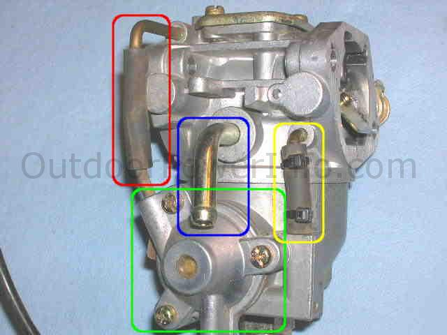 Kohler Command V Twin Nikki Carburetor Fuel Inlet
