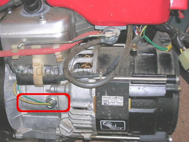 Descriptions, Photos and Diagrams of Low Oil Shutdown Systems on Honda  EnginesOutdoor Power Info