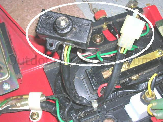Honda Low Oil Shutdown Sensor And Indicator Light: Honda Gx240 Wiring Diagram At Anocheocurrio.co