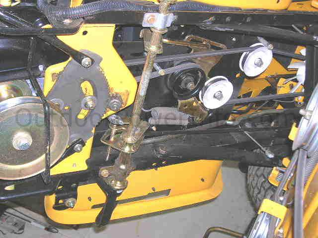 Installation, Repair and Replacement of v-belts on MTD Cub Cadet ...