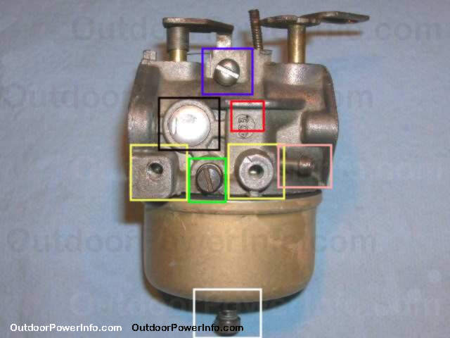 disassembly cleaning and repair of tecumseh lauson series 3 rh outdoorpowerinfo com Old Tecumseh Carburetor Tecumseh Carburetor Spring Diagram